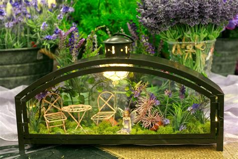 Ben Franklin Crafts And Frame Shop Creative Fairy Garden Ideas For Gardens