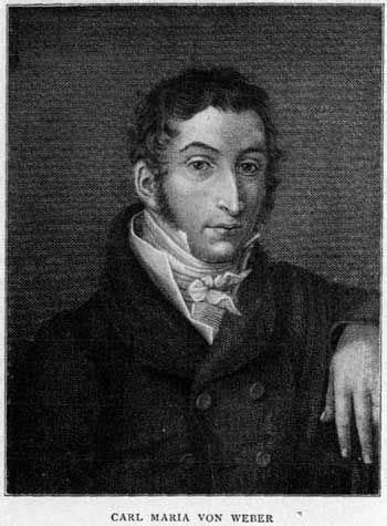 Carl Maria von Weber - Compositori - Cantorion - Spartiti