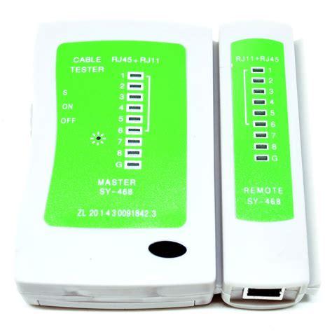 Alat Tes Kabel Lan jual multi cable tester bisa buat test kabel utp telpon