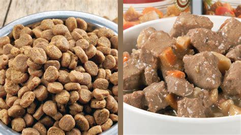 puppy food vs food canned pet food vs pet food vets help