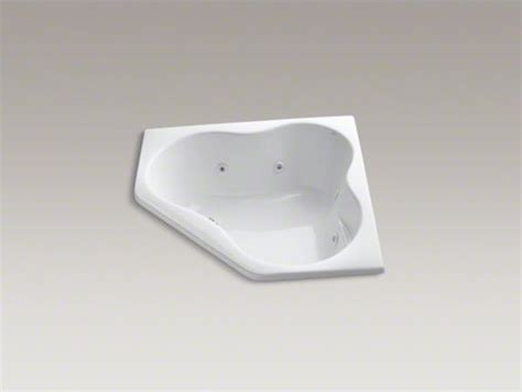 54 Drop In Tub kohler 5454 54 quot x 54 quot drop in corner whirlpool with heater contemporary bathtubs by kohler