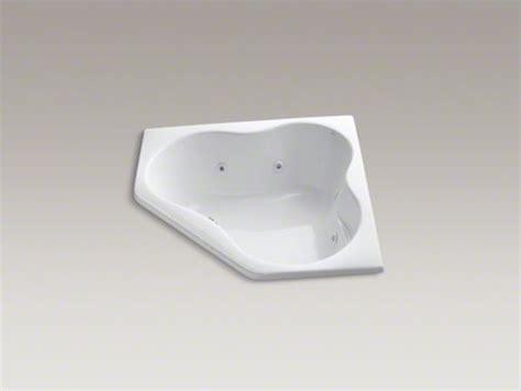 54 drop in bathtub kohler 5454 54 quot x 54 quot drop in corner whirlpool with heater contemporary bathtubs