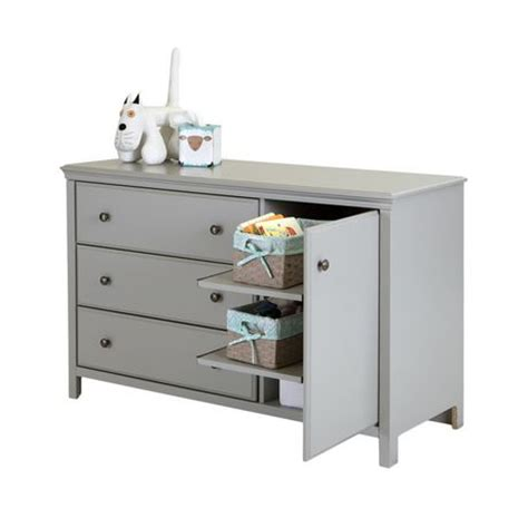 South Shore Cotton Candy Collection Changing Table Changing Tables Walmart