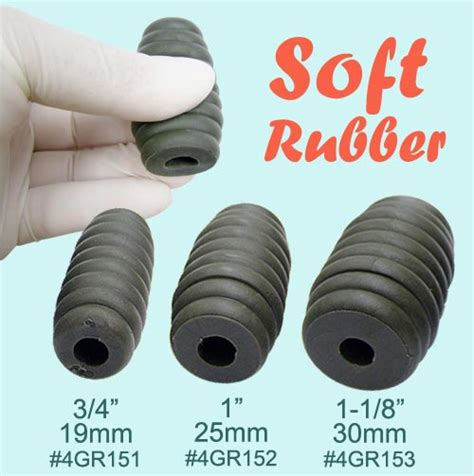 rubber sts inc 4gr150 soft rubber grips