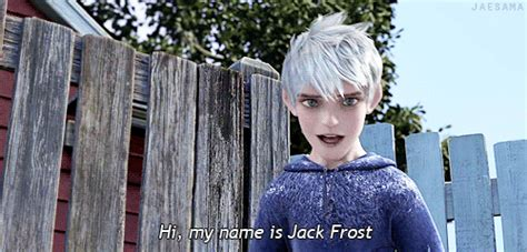 jack frost imagines imagine jack finally introducing himself to you