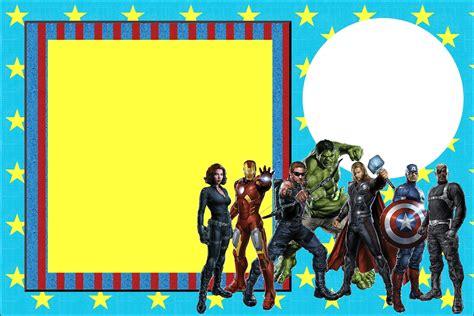 printable birthday invitations avengers avengers free printable invitations oh my fiesta in