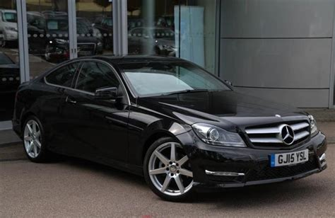 used mercedes c class coupe 2 door 1 6 c180 amg