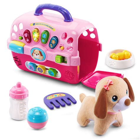 vtech puppy carrier care for me learning carrier vtech 174