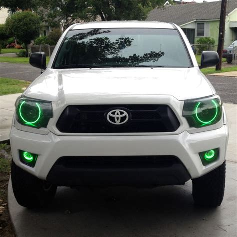 toyota tacoma led lights oracle halo lights for toyota tacoma 2005 2013 toyota