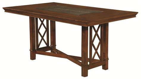 Brown Dining Table by Coaster 121671 Brown Glass Dining Table A Sofa