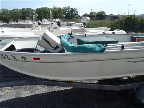 used aluminum boats for sale in delaware used 1998 grumman boats 1667f for sale in millsboro
