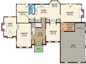 Best Floor Plans For Homes by Best Open Floor Plans Free House Floor Plans House Plan