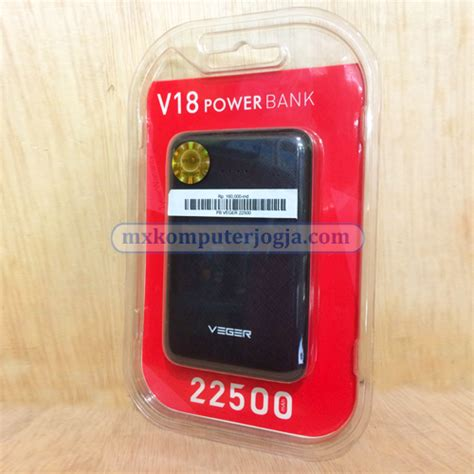 Power Bank Veger 22500 power bank 171 toko komputer jogja