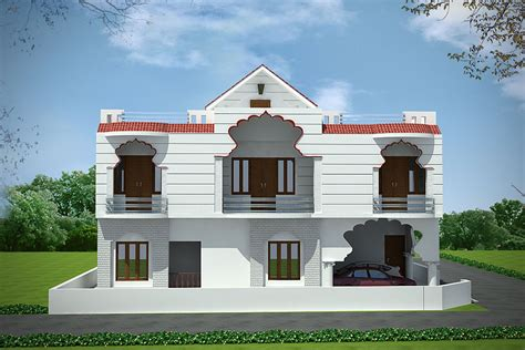 House Plans Beach stylish small duplex house designs best house design
