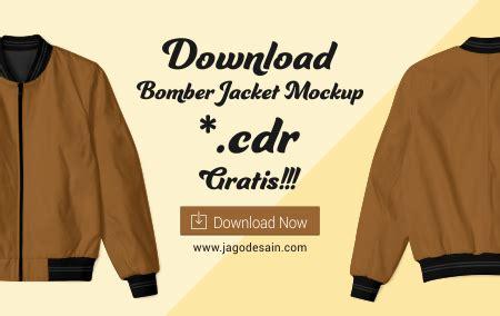 desain jaket di photoshop download mockup jago desain
