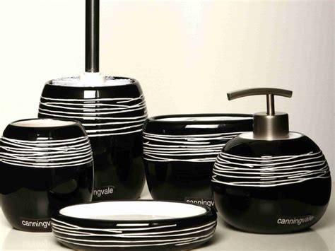 black white bathroom accessories black bathroom accessories sets decorating bathroom