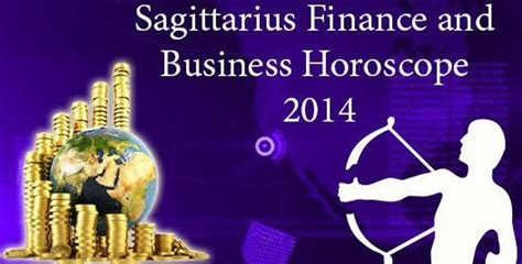 sagittarius finance and business horoscope 2014