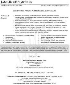 Mid Level Practitioner Sle Resume by Resume Sles Rn Resume Sles Triage Resume Sle