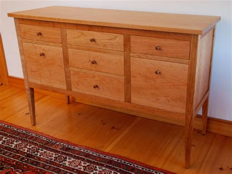 Dvd Build A Shaker Table With Mehler handmade cherry shaker style file credenza custom made