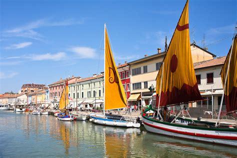 cesenatico ristoranti porto canale leonardo s port canal in cesenatico italian ways
