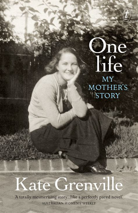 text publishing  life  mothers story book  kate