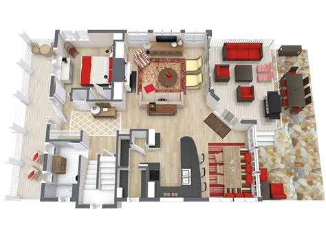 3d floor plan software free home design software roomsketcher
