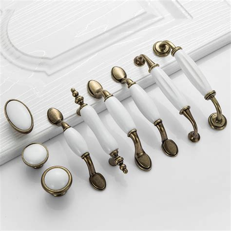 white kitchen cupboard door handles white ceramic door handles european antique furniture