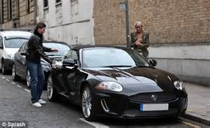 Aston Martin Liverpool Alex Curran Shows Aston Martin In Liverpool