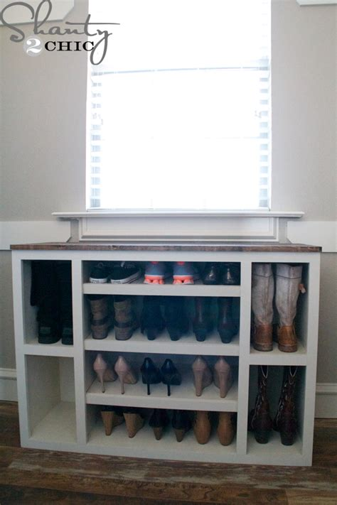 diy shoe storage cabinet diy shoe storage cabinet shanty 2 chic