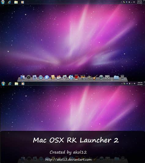 themes rk launcher mac osx rk launcher 2 by akol12 on deviantart