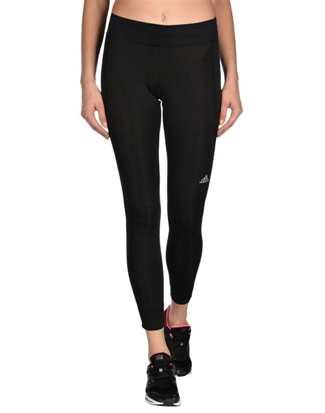 adidas legging lyst adidas leggings in black