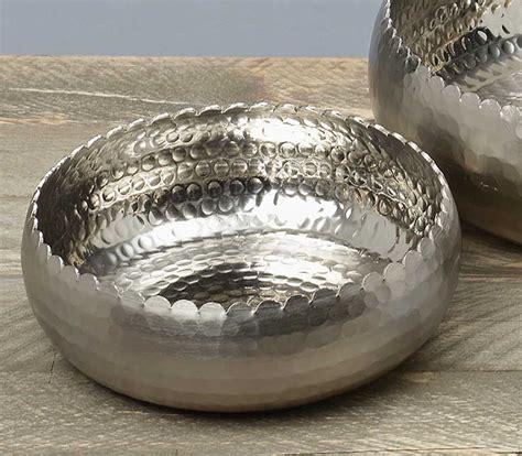 deko aus silber edle deko schale quot kiana quot rund d 23 cm aluminium silber