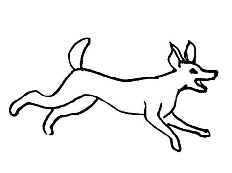 dog running coloring page dog coloring pages