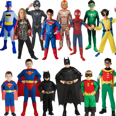 boys fancy dress and super hero costumes from the largest licensed childs classic superhero fancy dress new costume