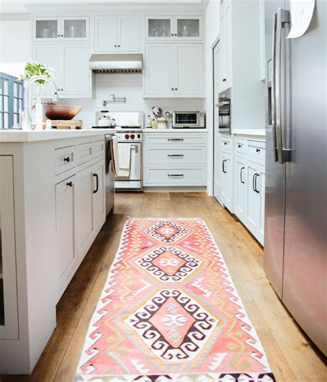 create some comfort with these 40 kitchen rugs