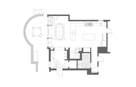 Kitchen Addition Floor Plans | kitchen renovation and addition john m reimnitz