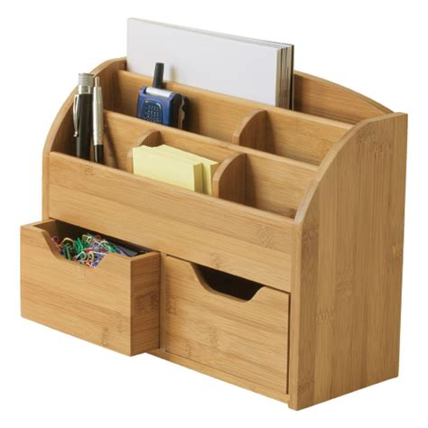 Wooden Desk Top Organizers Space Saving Desk Organizer Franklincovey