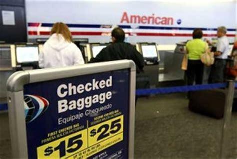 american airlines baggage fees fee bagaglio massimo 4 50 dollari la proposta di legge