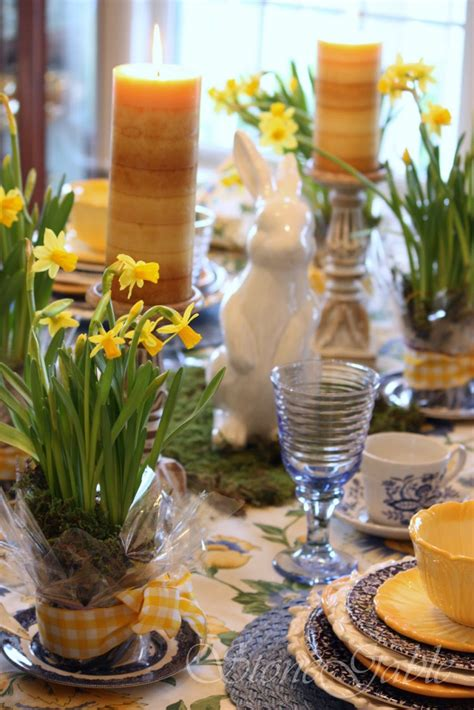 spring tablescape tablescapes stonegable