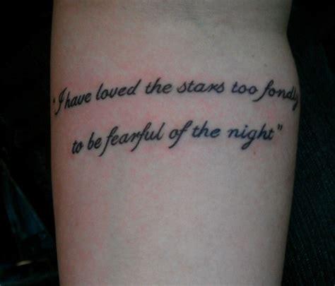 star tattoos  quotes quotesgram
