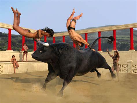 and bull taurus cretan bull picture taurus cretan bull image