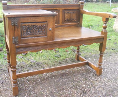 hall seats and benches old charm oak hall bench seat