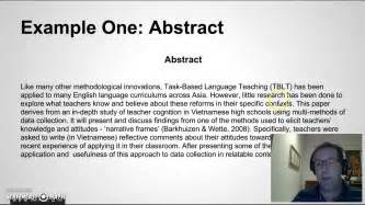 How To Make An Abstract In A Research Paper - research paper abstract writing