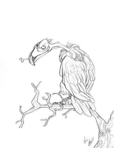 simple vulture tattoo image gallery evil vulture