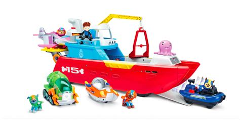 paw patrol boat canadian tire nickalive