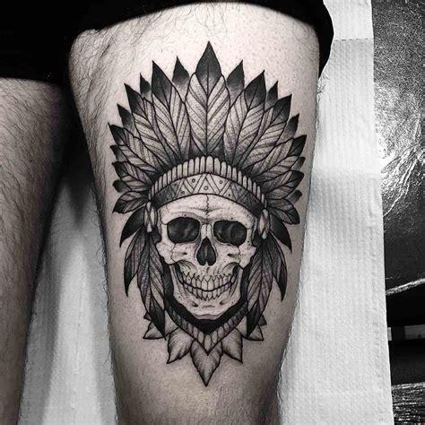 imagenes de calaveras indias tattoos de calaveras con un toque diferente que te