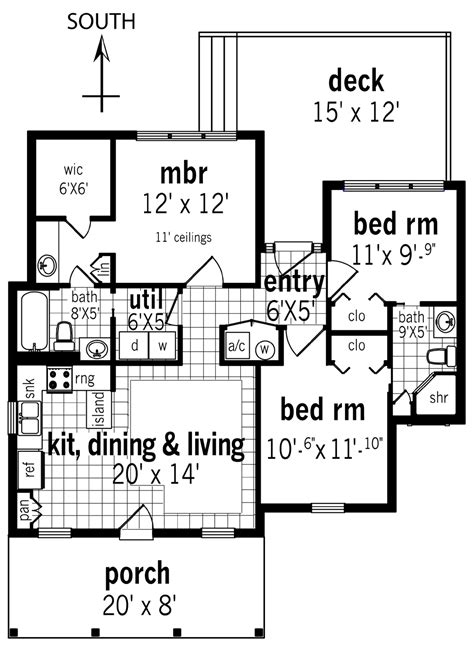 home building floor plans rutherford house 908 3162 3 bedrooms and 2 5 baths the house designers