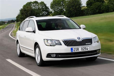 skoda superb estate 2014 most practical car 2013 auto express