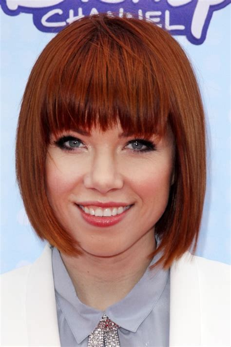 news about carly rae jepsens new shorter haircut carly rae jepsen short bob hairstylegalleries com