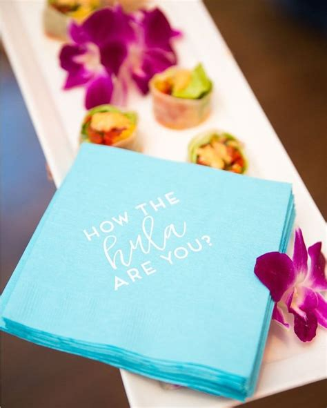 Keyboard Napkin Idea by 13 Best Wedding Signature Cocktails Images On